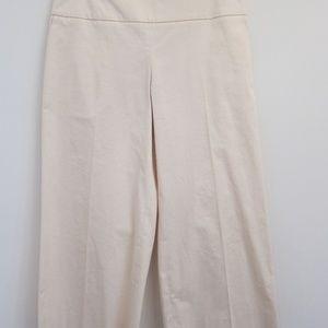 Authentic The Row Cream Wide Leg Pant
